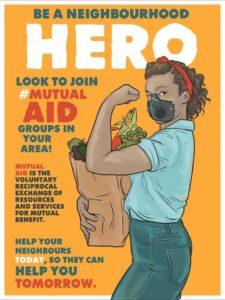 Mutual Aid image by Nicole Marie Burton