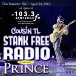 #Prince #tribute #funk #ripprince #princerogersnelson #restinparadiseprince #thepurpleone #theartistformerlyknownasprince #PRNlegacy #PaisleyPark #love4oneanother #NPG #music #neosoul #soulmusic #alternativeRandB #contemporaryrandb #AshevilleNC #AshevilleFM #StankFreeRadio